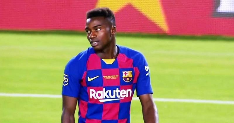 Moussa Wague au FC Barcelone