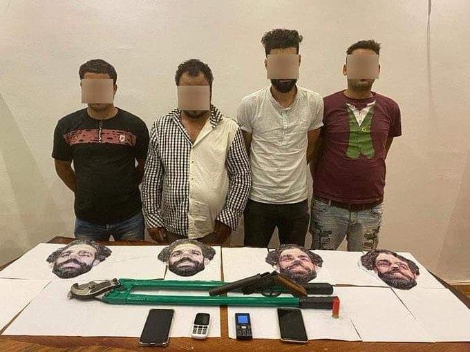 Des voleurs déguisés en Mo Salah en Égypte
