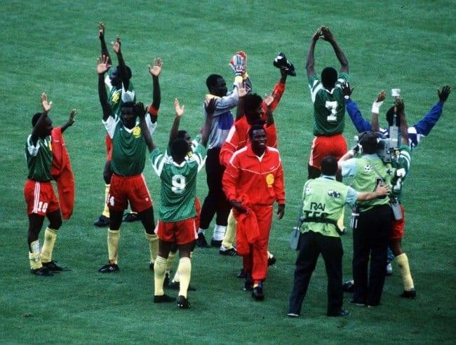 Cameroun - Argentine à la Coupe du Monde 1990
