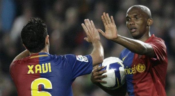 Eto'o exhorte Xavi à retourner au Barça