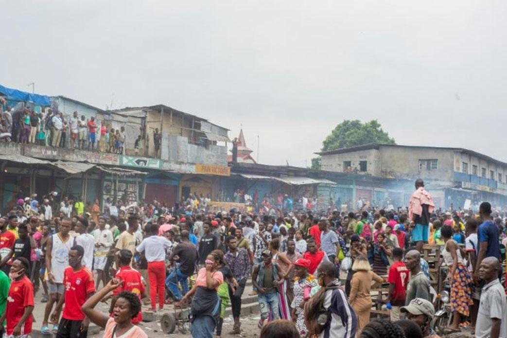 Fermeture du grand marché en RDC