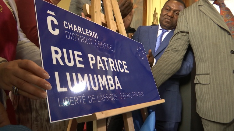 Une rue du nom de Patrice Lumumba à Charleroi