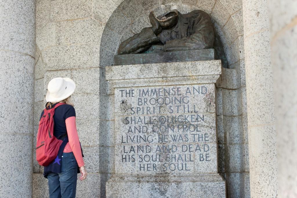 statue du colon Cecil Rhodes décapitée
